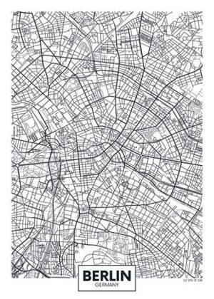 City Map - stadskaart van Berlijn