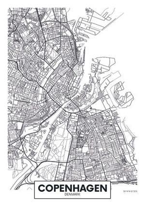 City Map - stadskaart van Kopenhagen