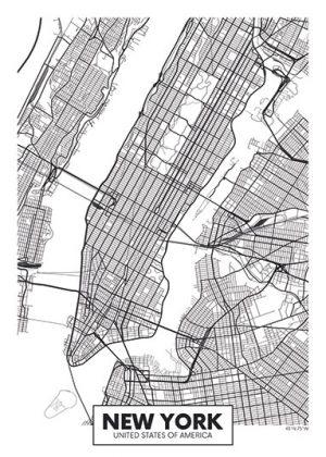 City Map - stadskaart van New York