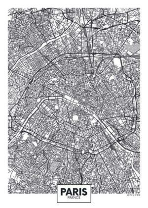 City Map - stadskaart van Parijs
