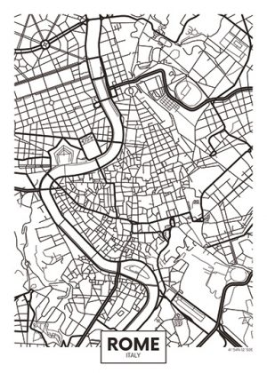 City Map - stadskaart van Rome