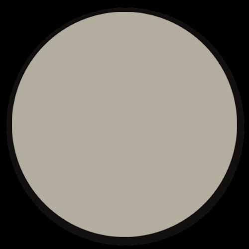 Muurcirkel licht grijs pink - ronde wanddecoratie in uni kleuren