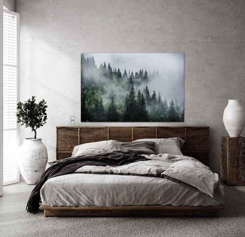 Misty Forest wanddecoratie