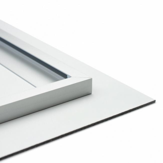 Blind ophangsysteem voor het ophangen van wanddecoratie