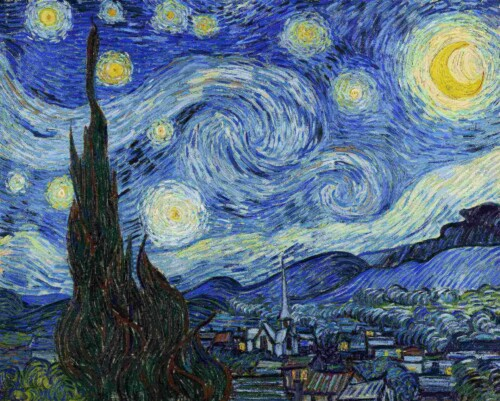 De Sterrennacht - Vincent van Gogh