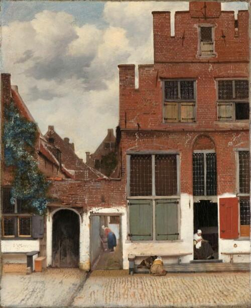 Het Straatje - Johannes Vermeer
