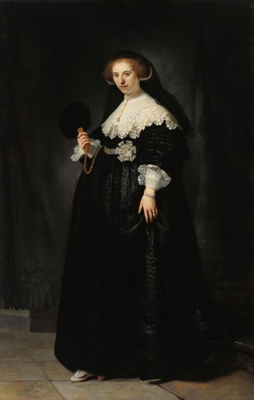 Portret van Oopjen Coppit - Rembrandt van Rijn
