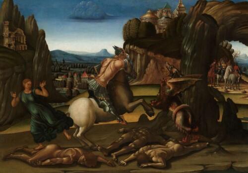 Sint Joris en de draak - Luca Signorelli
