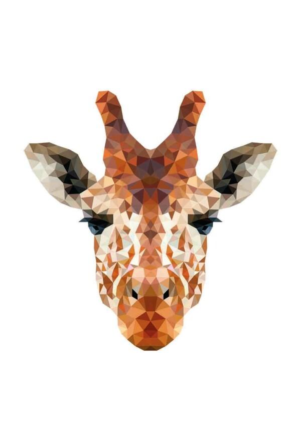 Pixxi Giraffe wanddecoratie kinderkamer