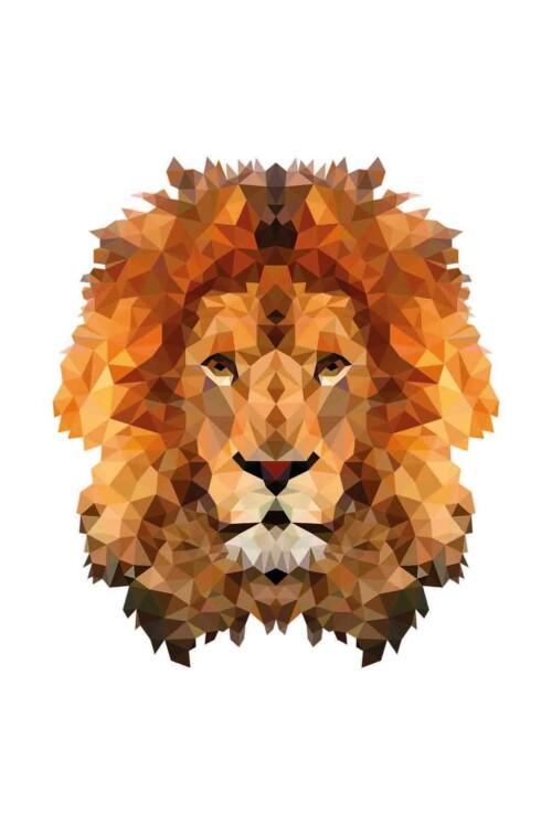 Pixxi Lion wanddecoratie kinderkamer