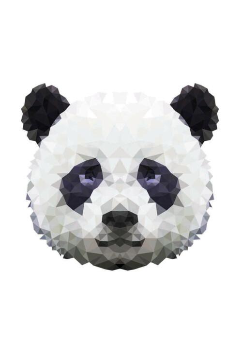 Pixxi Panda wanddecoratie kinderkamer