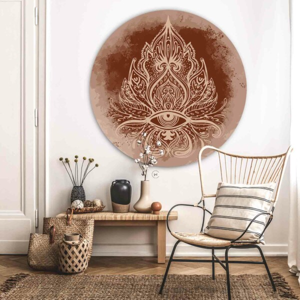 Wandcirkel Boho Ornate - ronde wanddecoratie