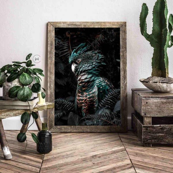 Poster botanische wanddecoratie jungle kaketoes