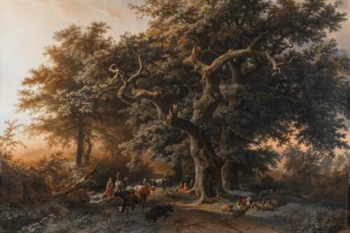 Bosgezicht - Barend Cornelis Koekoek