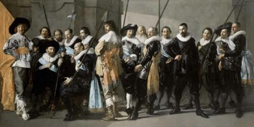 De magere compagnie van Frans Hals