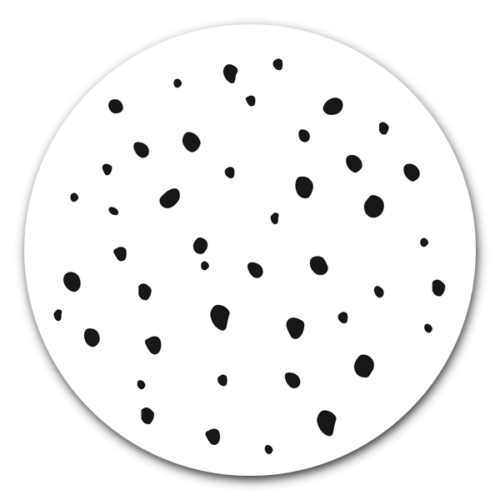 Muurcirkel Dots
