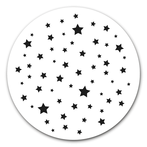 Muurcirkel Stars