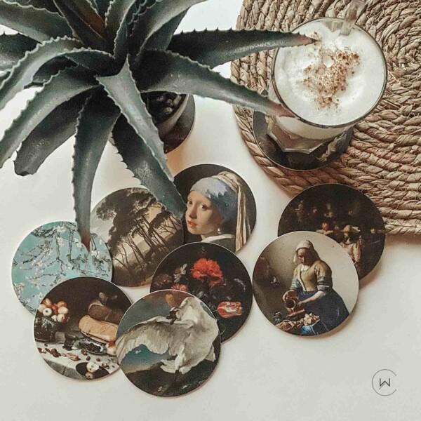 hippe kunstwerken voor op tafel