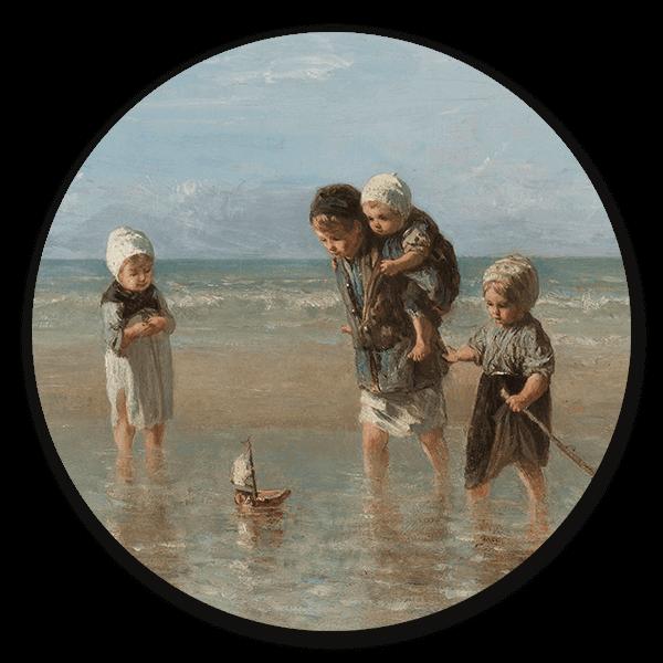 Muurcirkel Kinderen der zee van Jozef Israëls