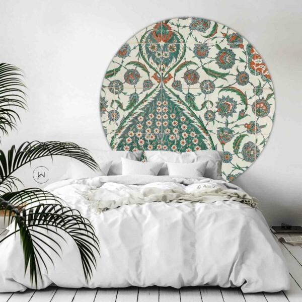 Unieke wanddecoratie voor op de slaapkamer Tegel Esila