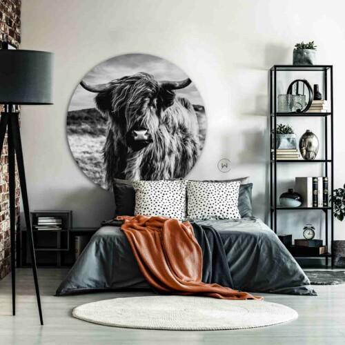 Robuuste wanddecoratie Highlander