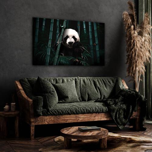 Panda wanddecoratie