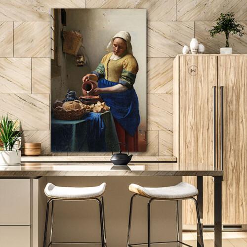 Het melkmeisje, populair schilderij nu in jouw woning