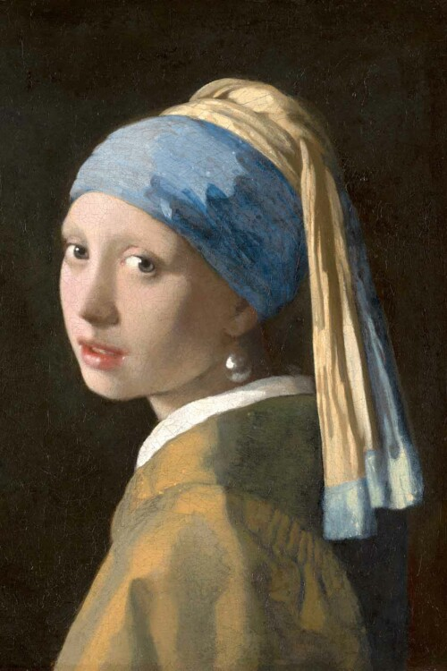 Het meisje met de parel - Johannes Vermeer
