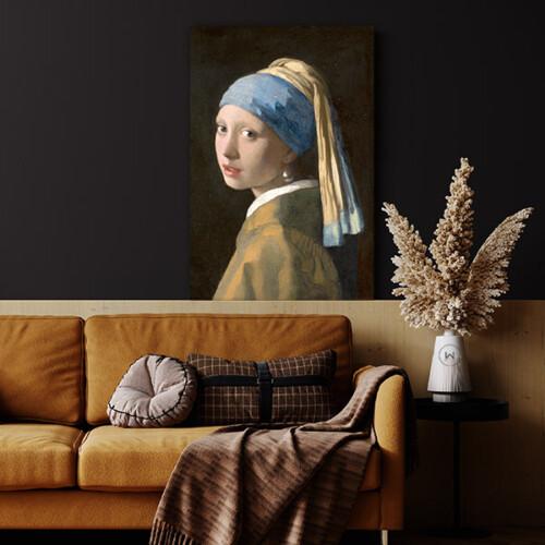 Het meisje met de parel in de woonkamer