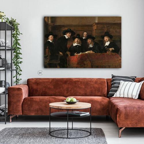 Schilderij van Rembrandt van Rijn in huis