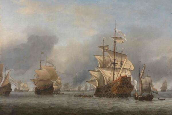 De verovering van de Royal Prince - Willem van der Velde