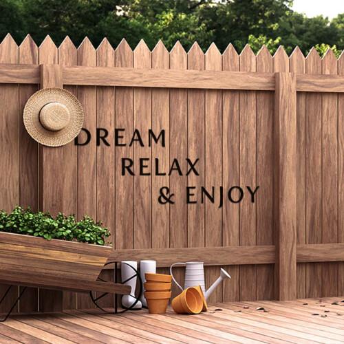 Dream Relaxe & Enjoy decoratieletters