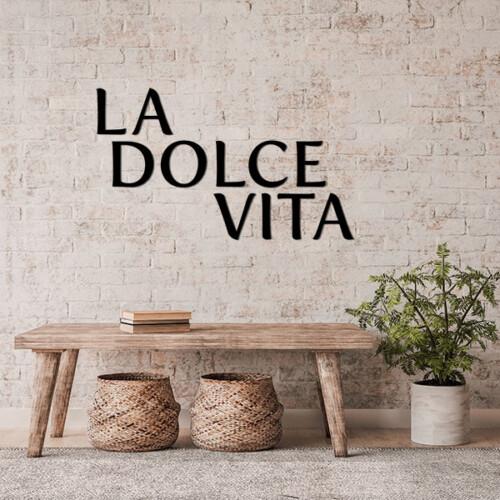 La Dolce Vita muurletters