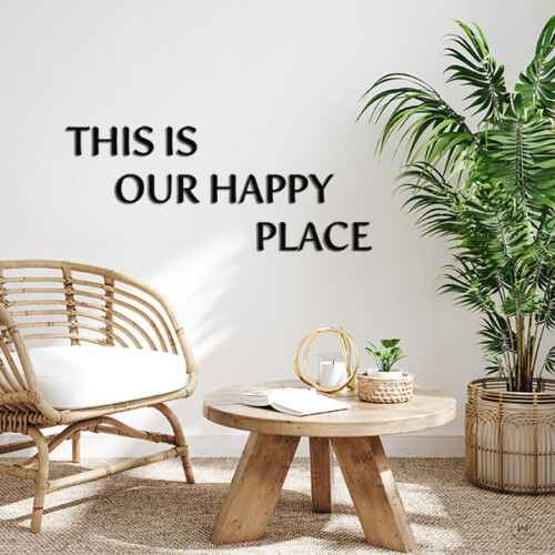 This is our happy place in de woonkamer